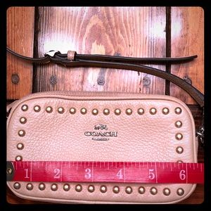 Authentic Pink Coach Crossbody